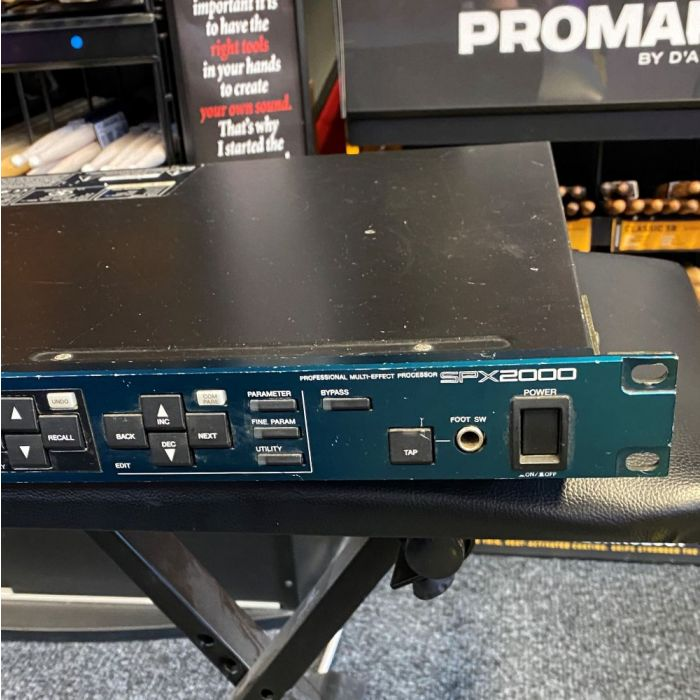 Another Detailed View of Pre-Loved Yamaha SPX2000 Effects Processor