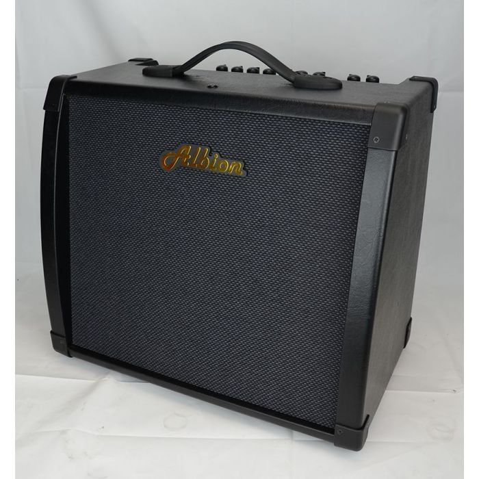 Front right-angled view of a Albion AG40DFX 40W Fx Hybrid 1x12 Combo