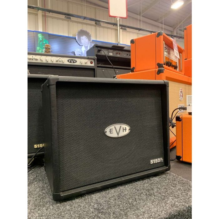 Angled View of B-Stock EVH 5150III Speaker Cab