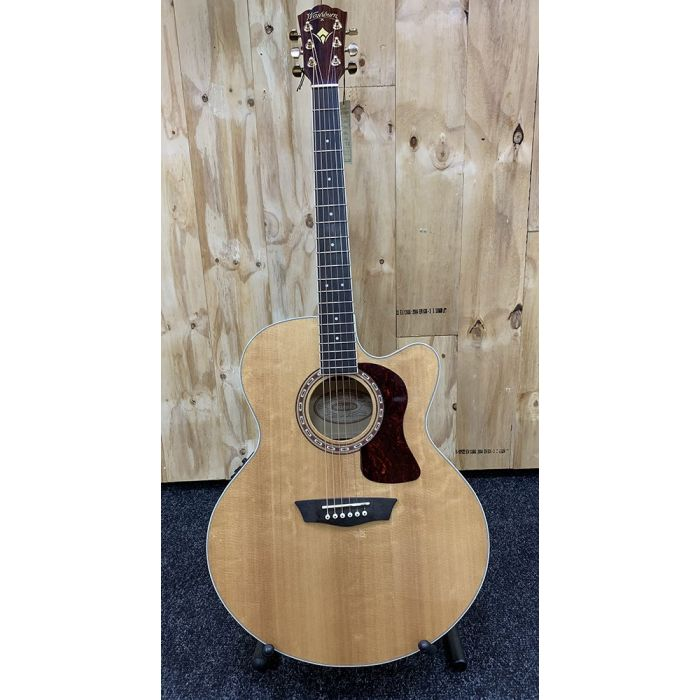 B-Stock Washburn HJ40SCE Heritage Electro Acoustic Full Front View