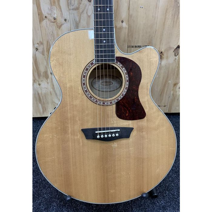 B-Stock Washburn HJ40SCE Heritage Electro Acoustic Front Body Detail