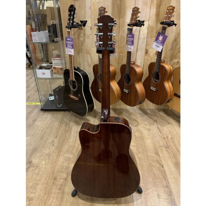 Full rear view of a B-Stock Yamaha A1M Electro Acoustic, Natural