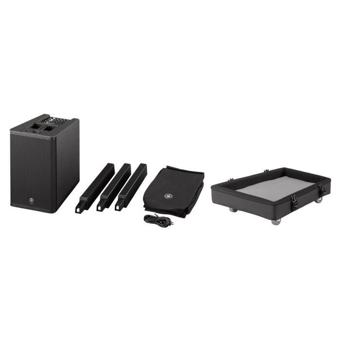 Yamaha StagePas 1K Components and Free Dolly