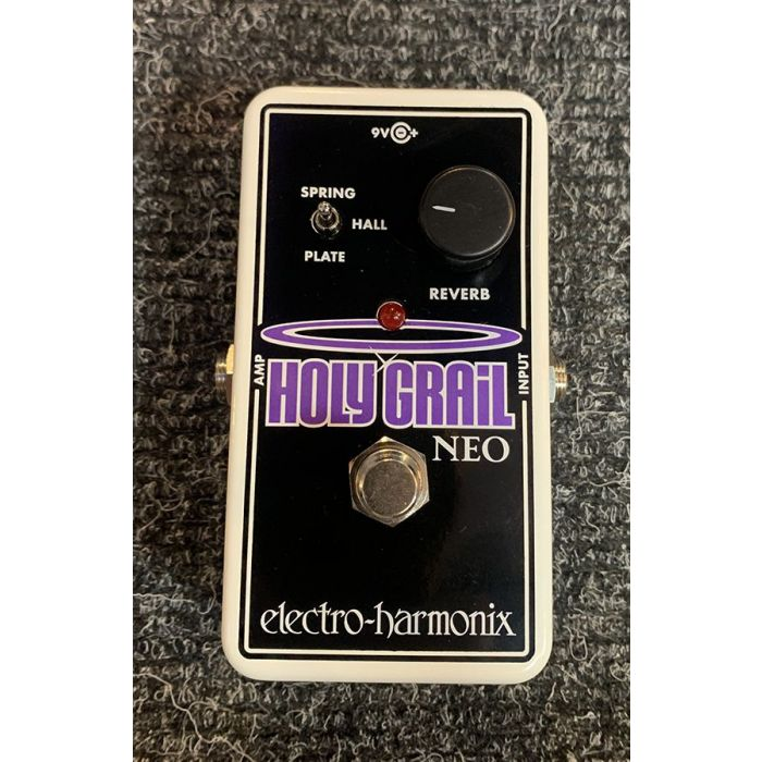 Top-down view of a B-Stock Electro Harmonix Holy Grail Neo
