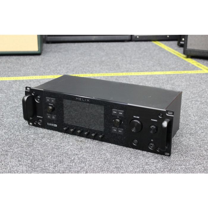 Angled View of B-Stock Line 6 Helix Rack Effects Unit