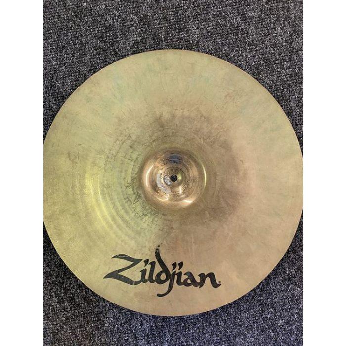 """Underside view of a Pre-Loved Zildjian A Custom 17"""" Projection Crash"""