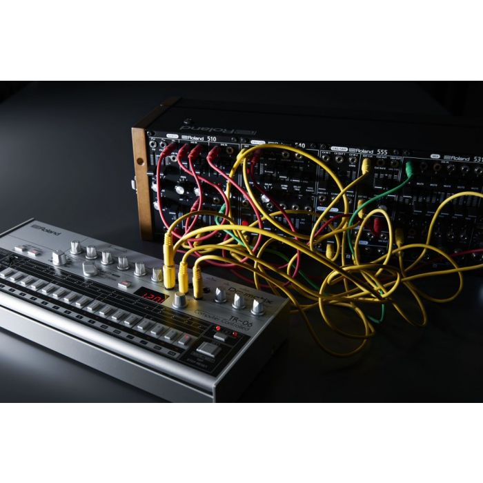 Roland TR-06 Drumatix Patched to External Gear
