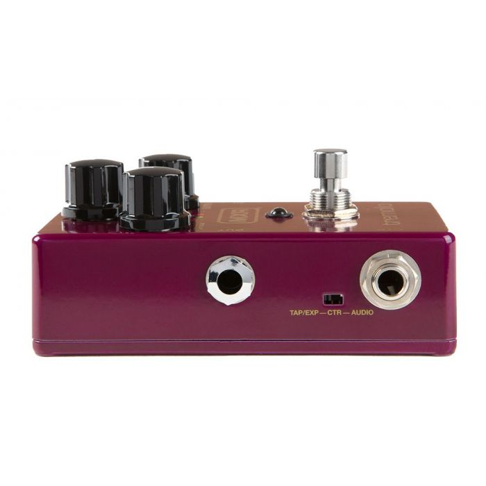 Left-sided view of a MXR M305 Tremolo Pedal