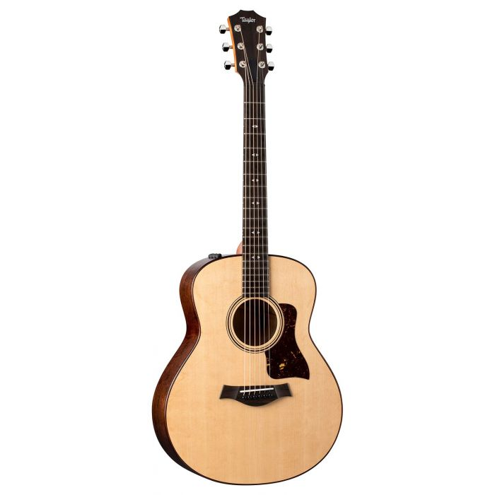 Full frontal view of a Taylor GTe Urban Ash Electro Acoustic Guitar