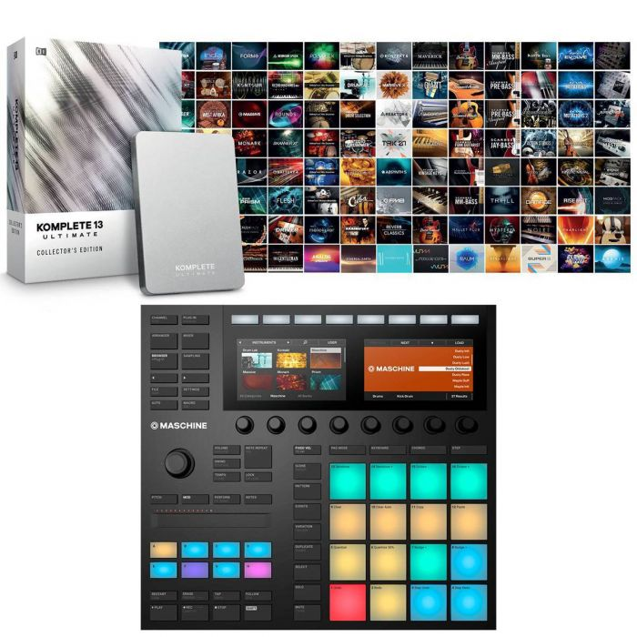 Native Instruments Maschine Mk3 with Komplete 13 Ultimate Collectors Edition