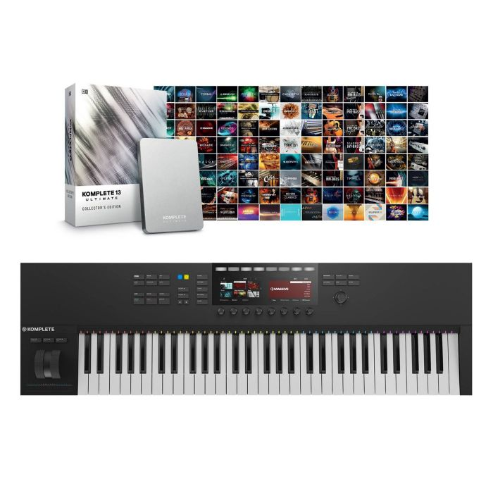 Native Instruments Komplete Kontrol S61 Mk2 with Komplete 13 Ultimate Collector's Edition