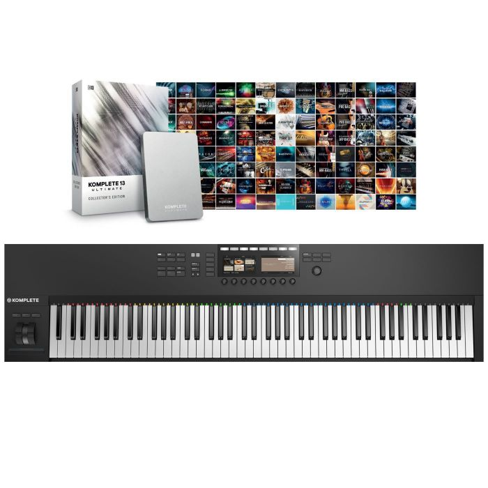 Native Instruments Komplete Kontrol S88 Mk2 with Komplete 13 Ultimate Collector's Edition