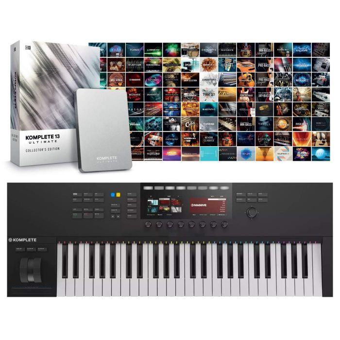 Native Instruments Komplete Kontrol S49 Mk2 with Komplete 13 Ultimate Collector's Edition