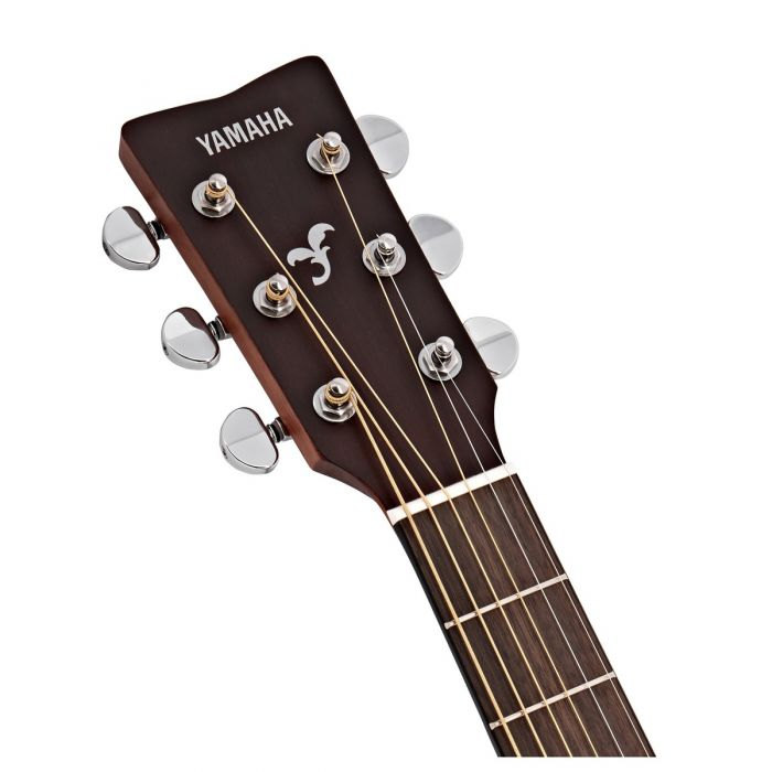 Yamaha FG800M Acoustic Natural Headstock Front