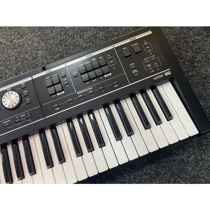 Right Side of B-Stock Roland V-Combo VR-09-B Live Performance Keyboard