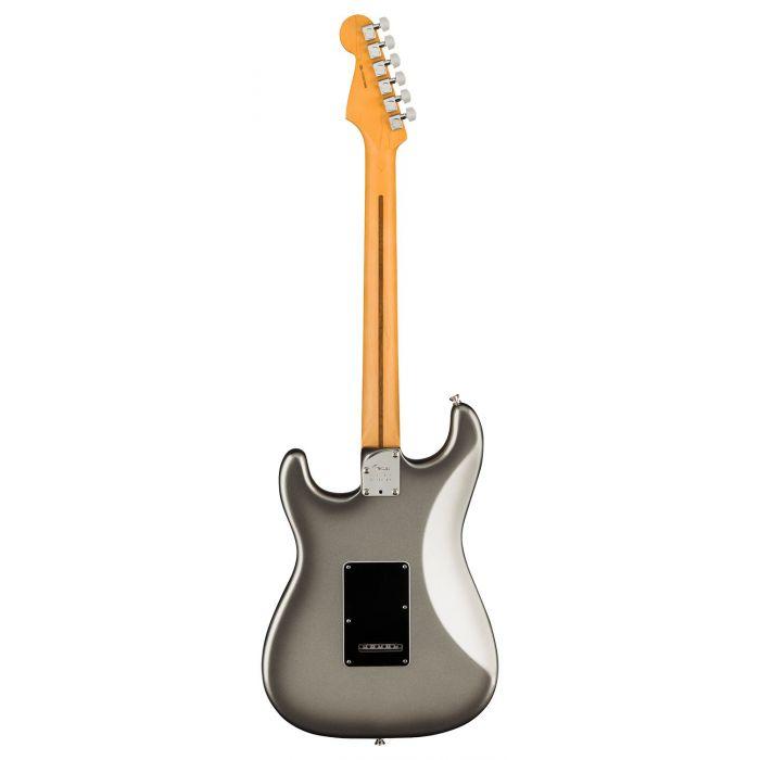 Full rear view of a Fender American Professional II Stratocaster RW, Mercury