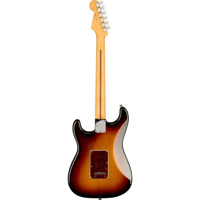 Back of Fender American Professional II Stratocaster HSS 3-Colour Sunburst