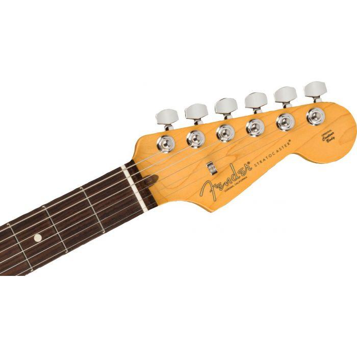 Fender American Pro 2 Strat HSS 3TS Headstock
