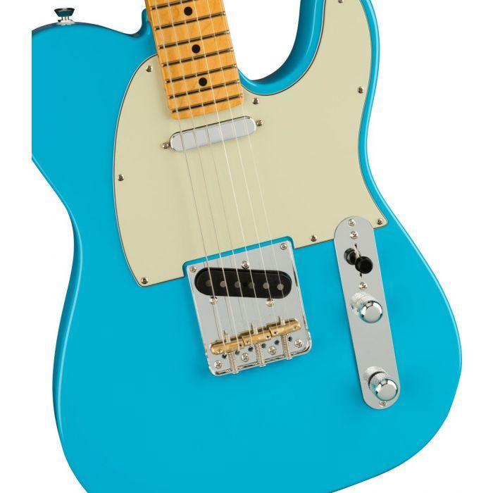 Fender American Pro 2 Tele Miami Blue Body