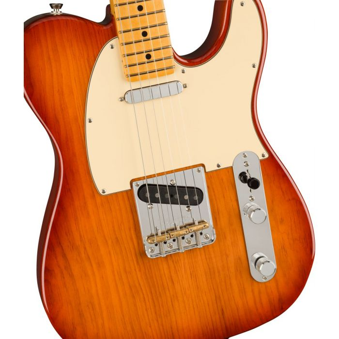 Fender Am Pro 2 Tele Sienna Sunburst Body
