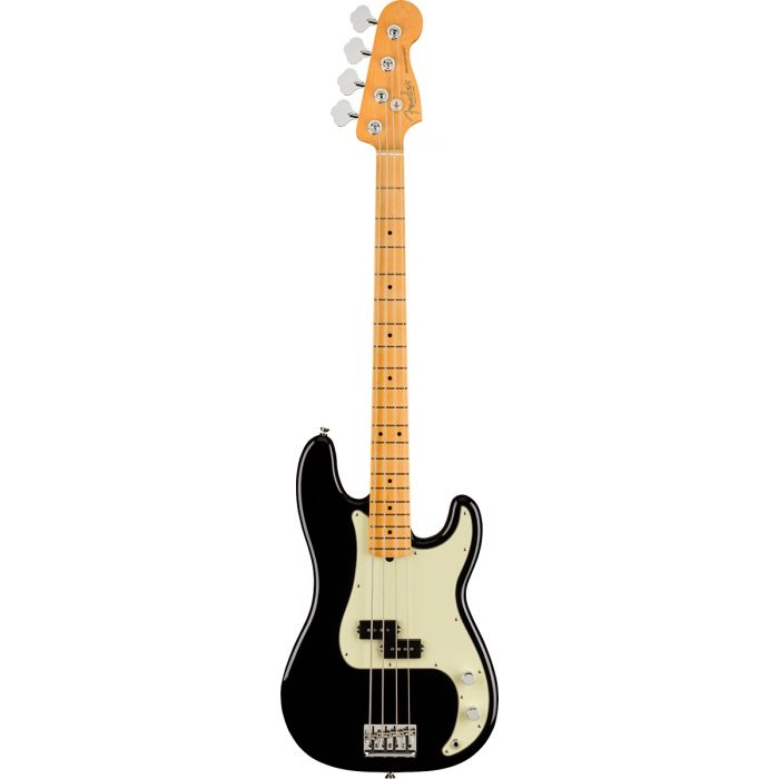Fender American Professional II Precision Bass Black MN Full Front View