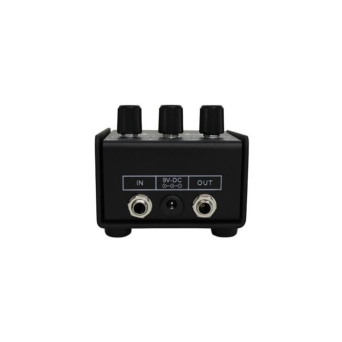 Rear View of Pro Co RAT2 Distortion Pedal