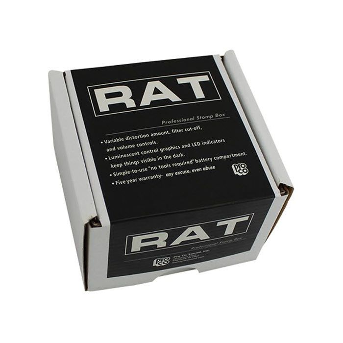 Boxed Pro Co RAT2 Distortion Pedal