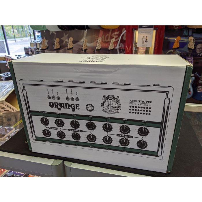 Pre-Loved Orange Acoustic Preamp Box