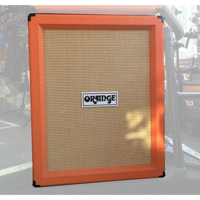 Full frontal view of a B Stock Orange PPC212 V Guitar Speaker Cab