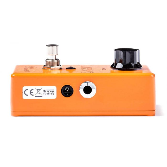 Right-side view of an MXR CSP-101SL Script Phase 90 Phaser Pedal
