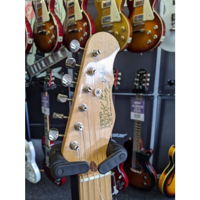 Pre-Loved Fret King Country Squire Yardbird Headstock