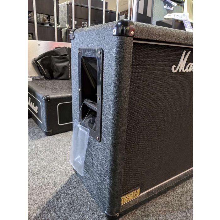 Left Side of Pre-loved Marshall 1936V 2x12 Guitar Speaker Cab