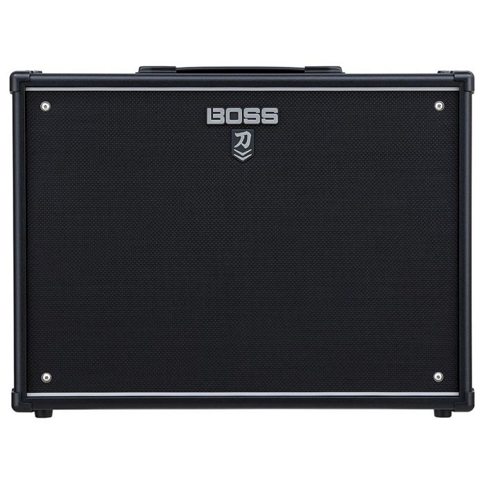 Full frontal view of a B-Stock Boss Katana Cabinet212 2x12 Guitar Cabinet