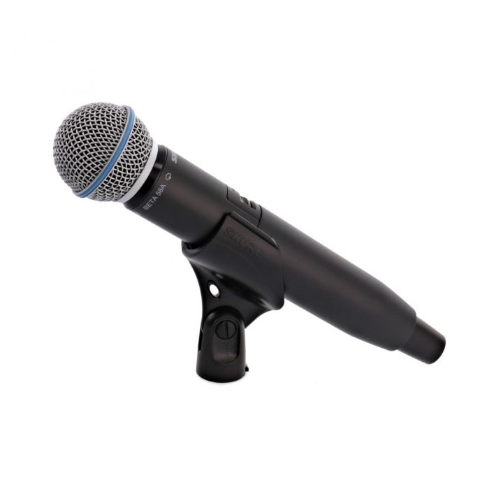Shure BETA58 on Clip View