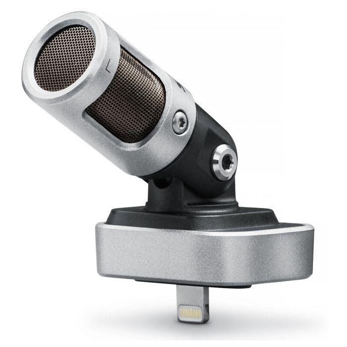 Shure MV88 iOS Microphone Angled View