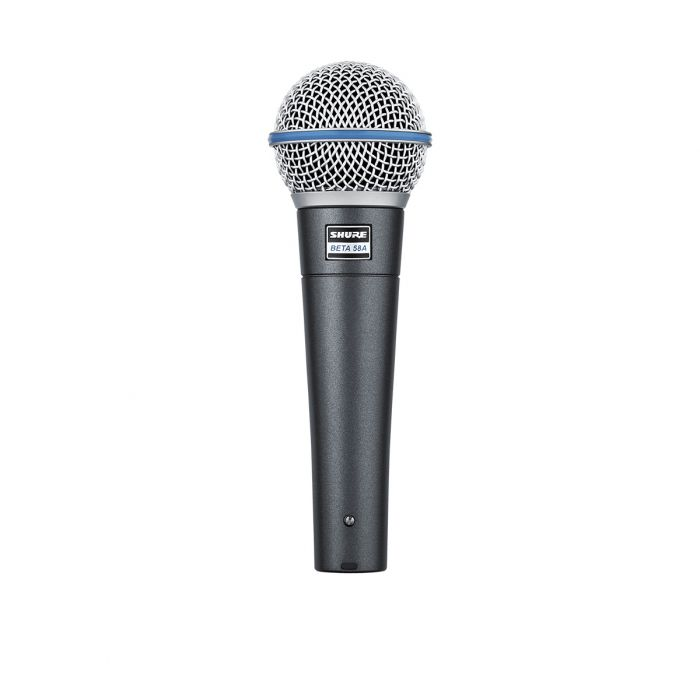 Side View Of Shure Beta 58A Dynamic Microphone