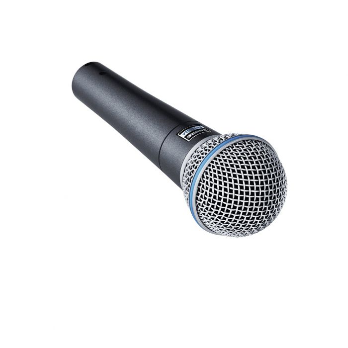 Front View of Shure Beta 58A Dynamic Microphone