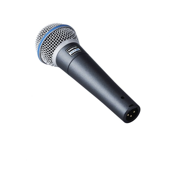 Back View of Shure Beta 58A Dynamic Microphone