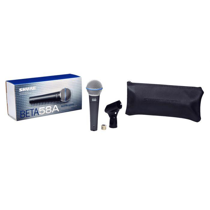 Shure Beta 58A Dynamic Microphone Set View