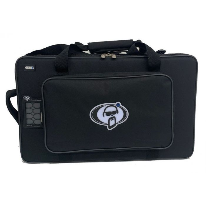 Front view of a Protection Racket PROLINE HX Floor Softcase