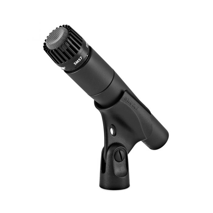 Shure SM57 Dynamic Microphone on Clip