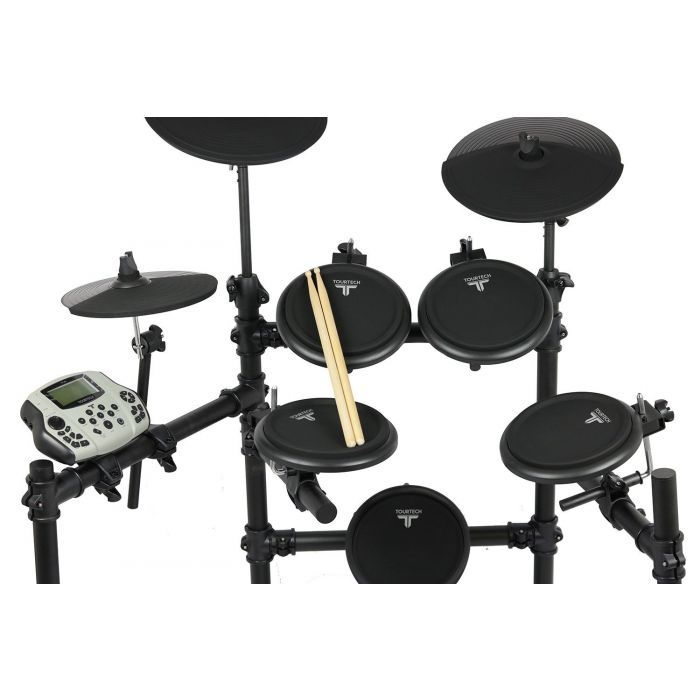 Closer Look At Tourtech TT-16S Electronic Drum Kit Headphone Bundle