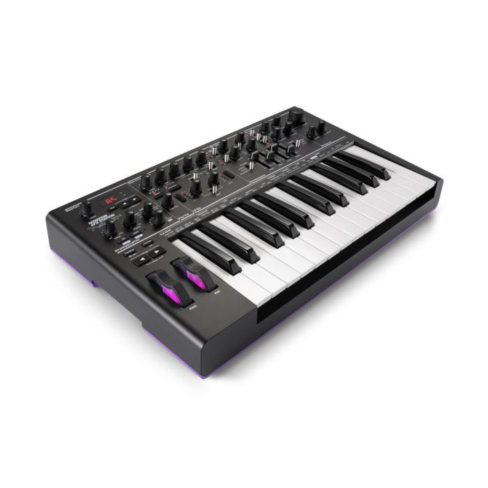 Angled View of Novation AFX Station Analog Synth