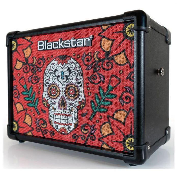 Front left angled view of a Blackstar IDC10V2 Sugar Skull 2 10w Digital Combo
