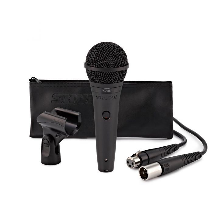 Shure PGA58 Vocal Microphone with XLR Cable