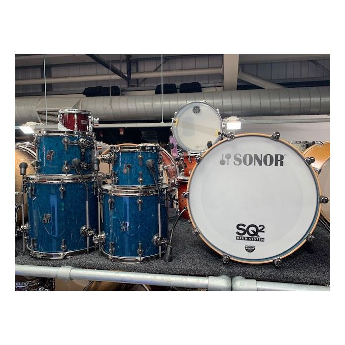 Another Shot of Sonor SQ2 5-Piece Shell Pack in Store
