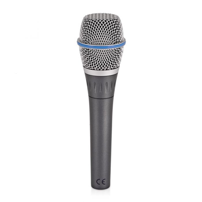 Shure Beta 87A Condenser Microphone Side View