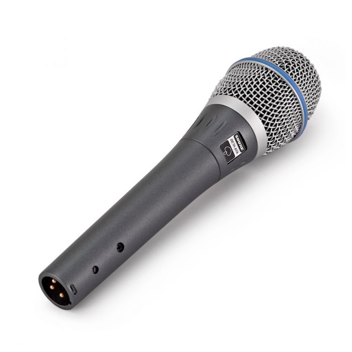 Shure Beta 87A Condenser Microphone Angled View