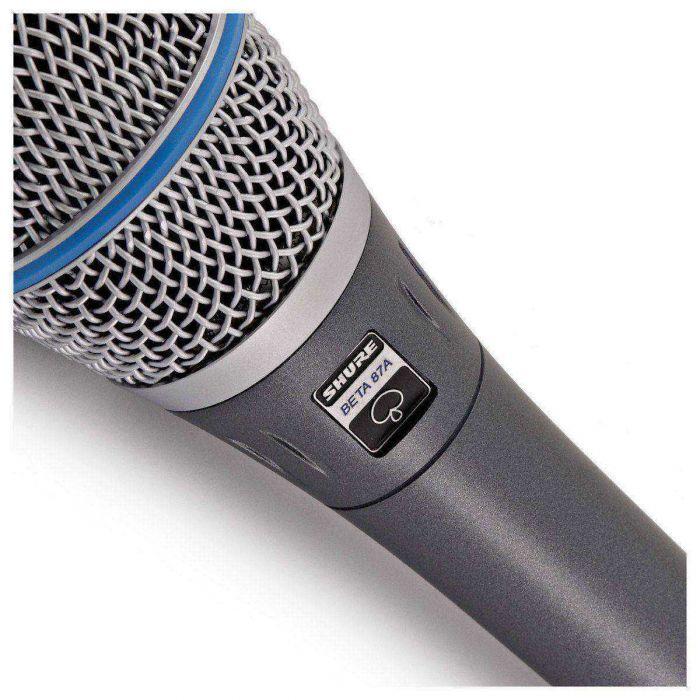 Shure Beta 87A Condenser Microphone Close Up