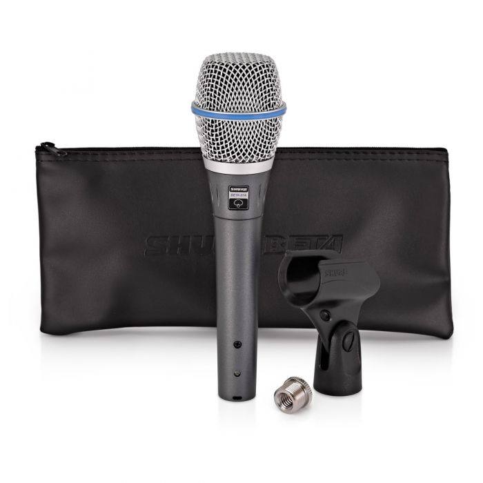 Shure Beta 87A Condenser Microphone With Accessories
